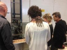 Flintermann fabrieksbezoek